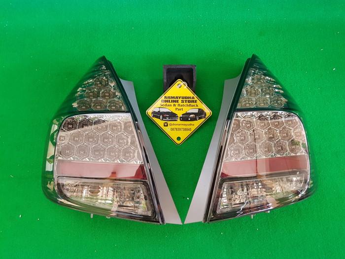 harga Stoplamp lampu belakang led all smoke honda jazz gd3 idsi vtec Tokopedia.com
