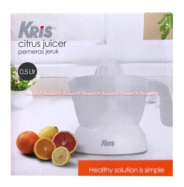 harga Kris citrus juicer alat pemeras jeruk kapasita 05 liter putih Tokopedia.com