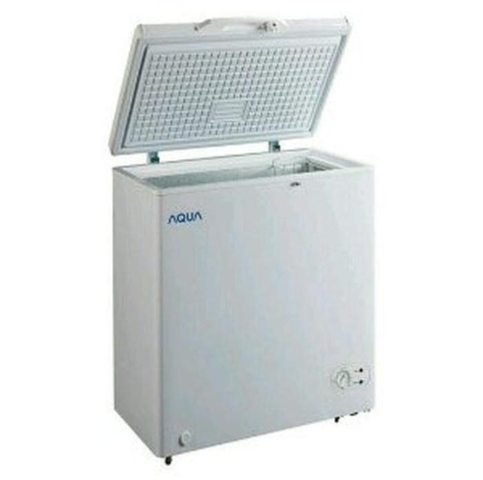 Chest Freezer AQUA SANYO AQF100W 100 Lt