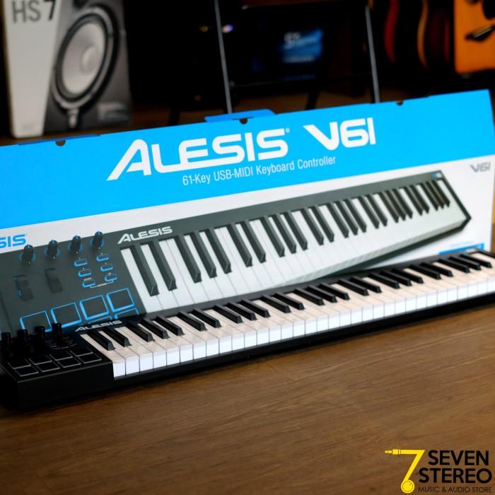 harga Alesis v61 61 keys usb midi keyboard controller Tokopedia.com