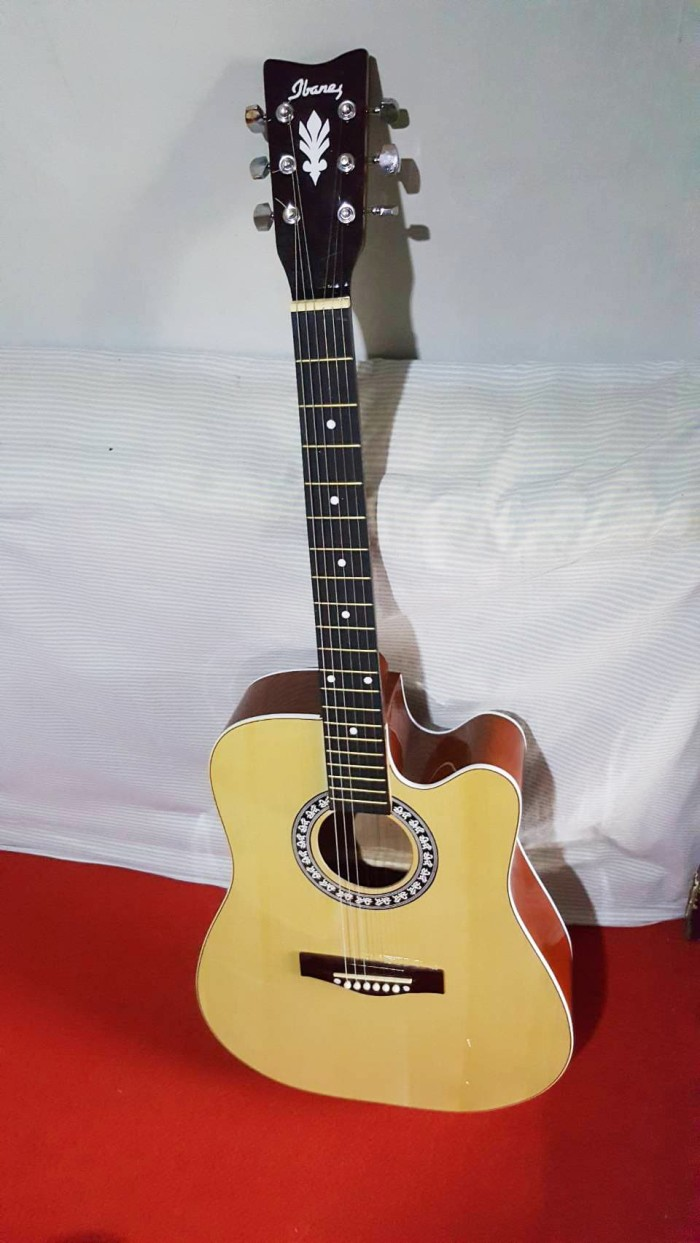 harga Gitar akustik jumbo murah bandung senar string Tokopedia.com