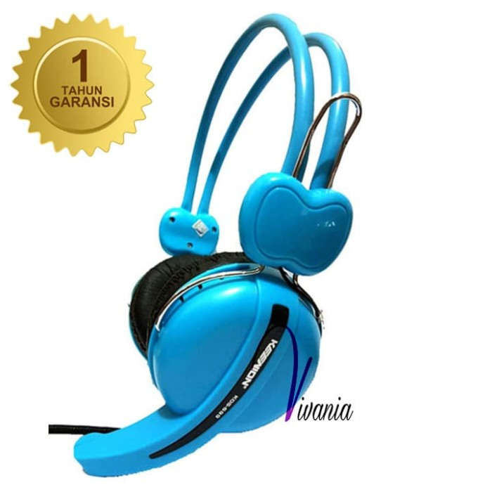 Keenion Headset KOS 699 Biru Original
