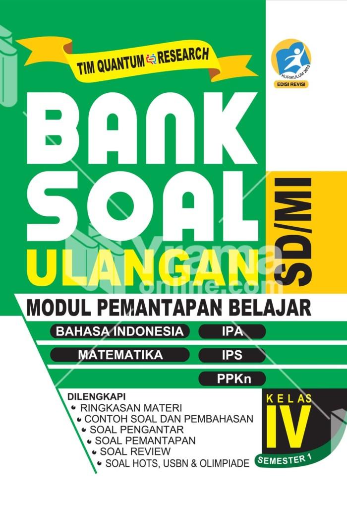 Jual Buku Bank Soal Ulangan Sd Kelas 4 Semester 1 Kurikulum 2013 Revisi Kab Bandung Juragan Buku Tokopedia