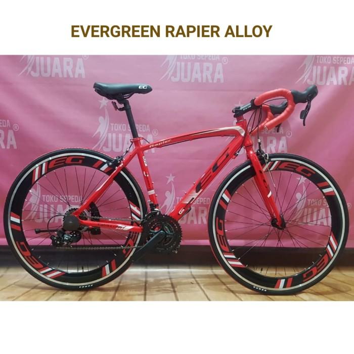 harga Sepeda balap evergreen rapier alloy 700c eg 16-07 Tokopedia.com