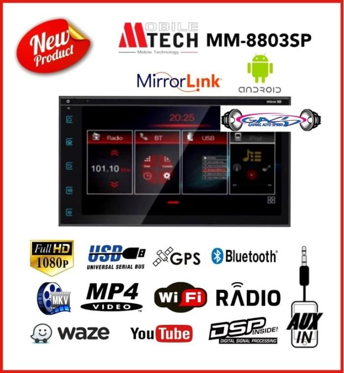Jual Doubledin MTECH MM-8803SP Mirrolink Android / Headunit built in DSP -  Kota Yogyakarta - pusat lampu mobil jogja | Tokopedia