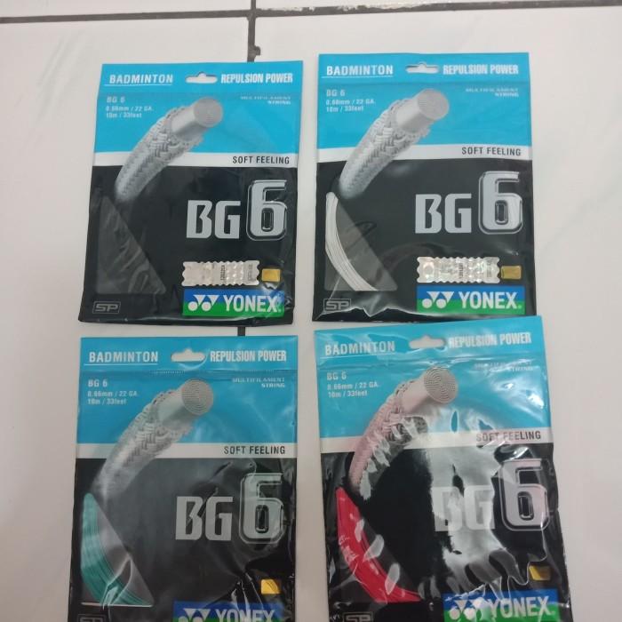 harga Senar raket bulutangkis badminton yonex bg6 ! original product ! Tokopedia.com