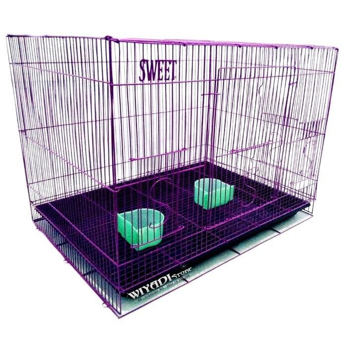 harga Kandang besi lipat / kandang kucing sg kelinci musang burung size l Tokopedia.com