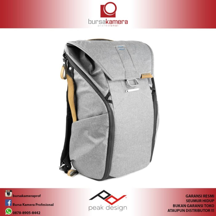 Jual Peak Design Everyday Backpack (20L Ash) - Bursa Kamera ... f38d33112d