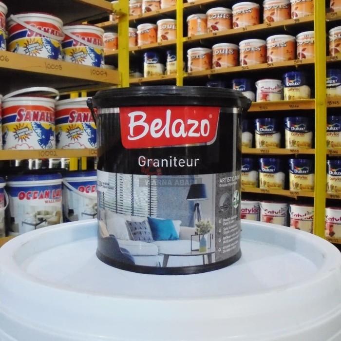 Foto Produk Cat Texture Belazo Graniteur 2.5 Liter dari Warna Abadi Jamal
