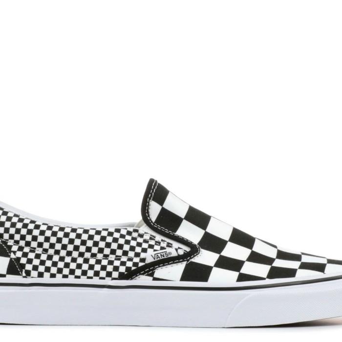 Jual Vans Slip on mix Checkerboard