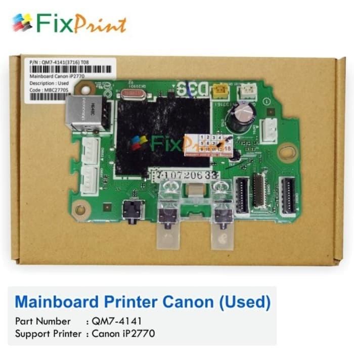harga Mainboard printer canon ip2770 motherboard 2770 ip 2770 board ori Tokopedia.com