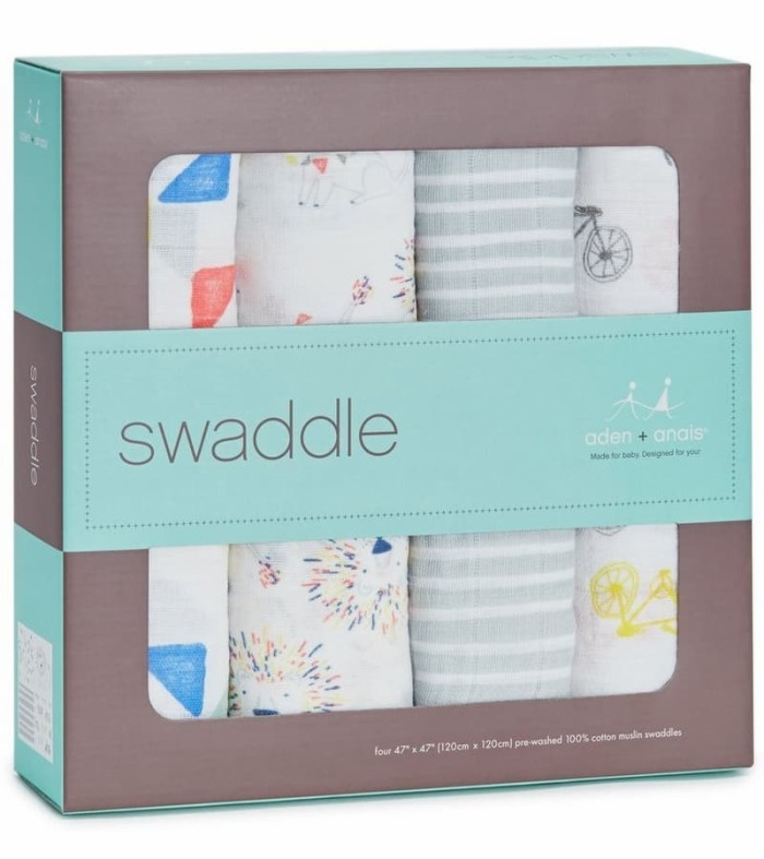 Aden+anais - 4 pack leader of the pack classic swaddles