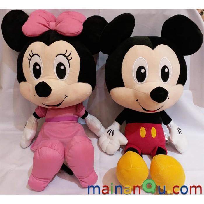 Jual Boneka Mickey Mouse Original 1set Mickey Dan Minnie Mouse Jakarta Utara Toko Mainanqu Tokopedia