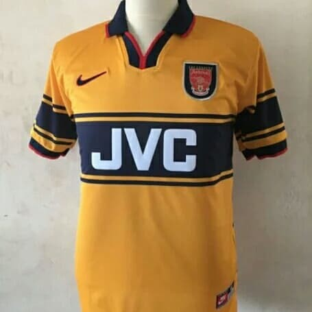 on sale d2550 58af8 Jual Jersey Arsenal retro jvc blueband 1997 - DKI Jakarta - uthe_shop |  Tokopedia