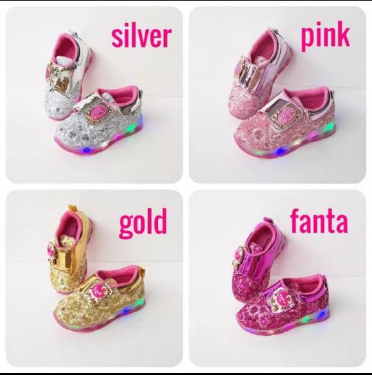 harga Sepatu pesta anak #sepatu lampu anak cewek #sepatu hello kitty Tokopedia.com