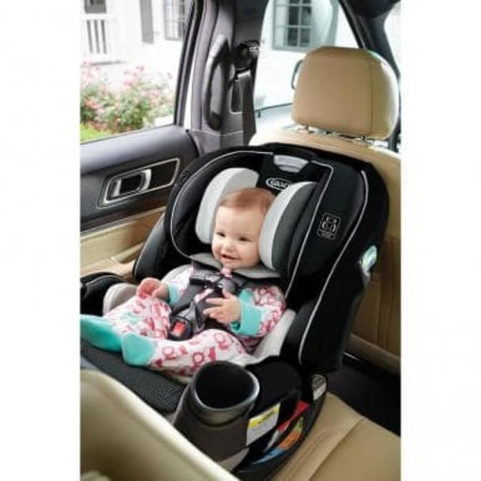 Jual Graco 4ever Extend2fit All In One Convertible Car Seat 2001871 Clove Redbabyshop Tokopedia
