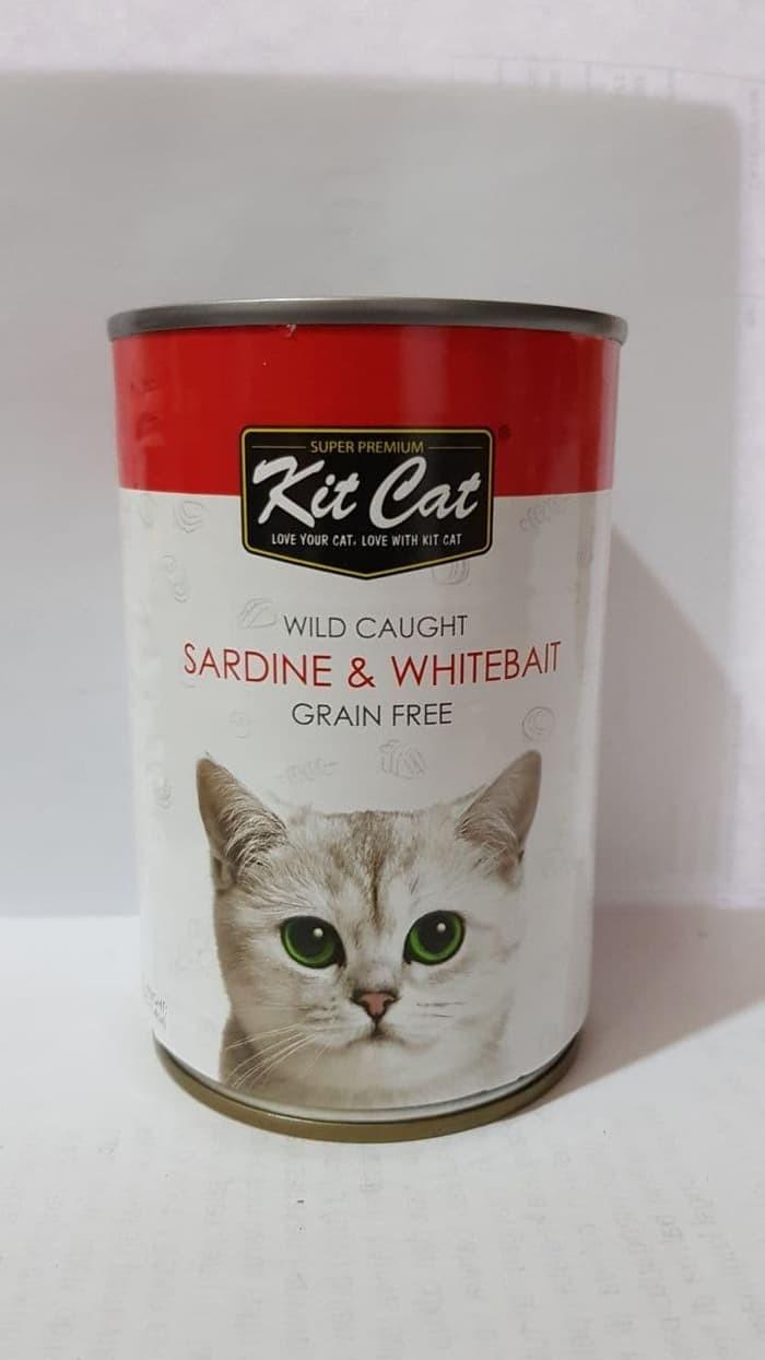 Jual Kit Cat Kaleng Sardine Whitebait Makanan Kucing Kaleng 400 Gr Jakarta Barat Gearpetshop