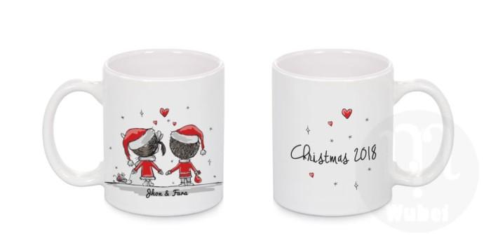 harga Mug natal couple  - hadiah natal ^_^ Tokopedia.com