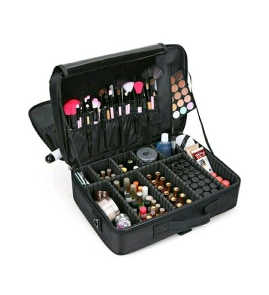 tas kosmetik koper make up beauty case 40x28x14