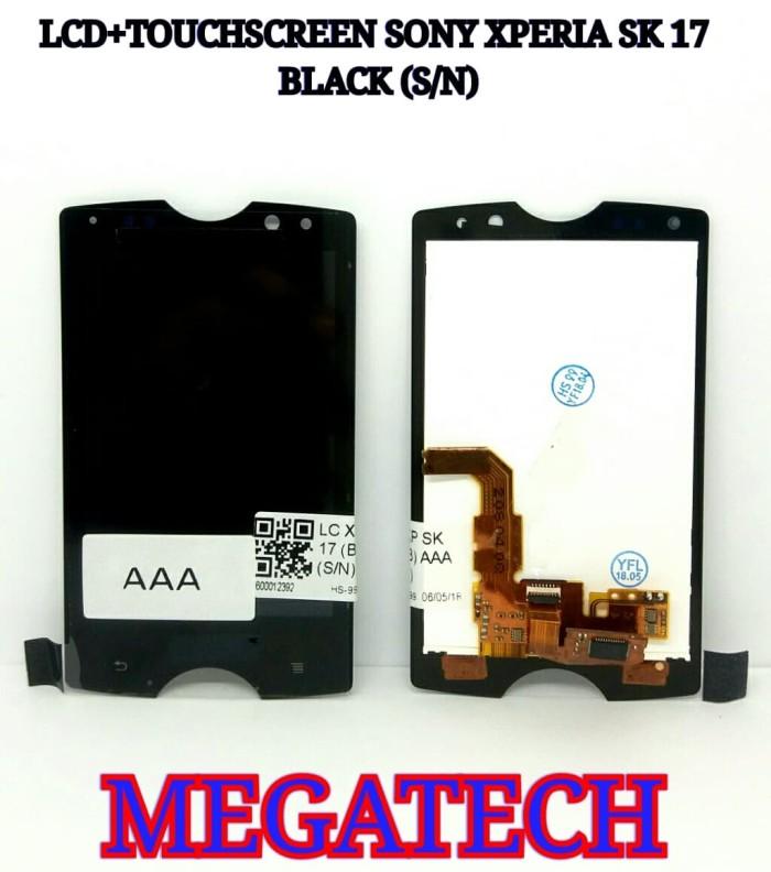 harga Lcd sony xperia sk17 / sk 17 aaa + touchscreen - putih Tokopedia.com