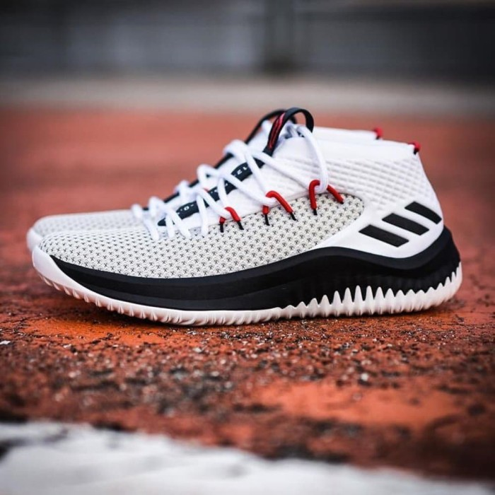 uk availability e123a caabe ADIDAS DAME 4 RIP CITY WHITE BLACK