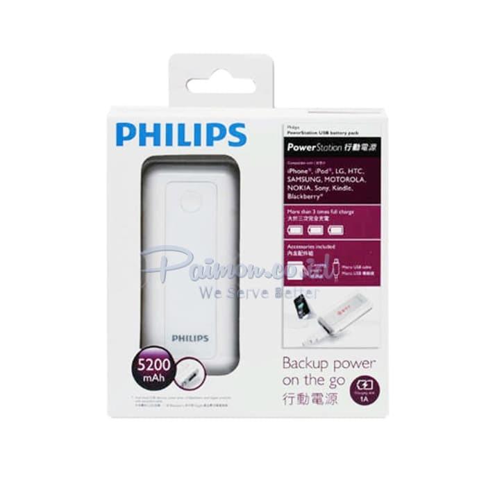 Foto Produk Power Bank Philips 5200 mAh dari RedSkyonline