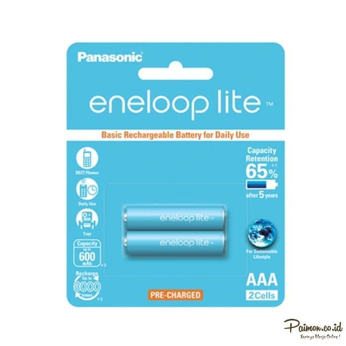 Foto Produk Eneloop Lite Baterai A3 bp2 sanyo dari RedSkyonline
