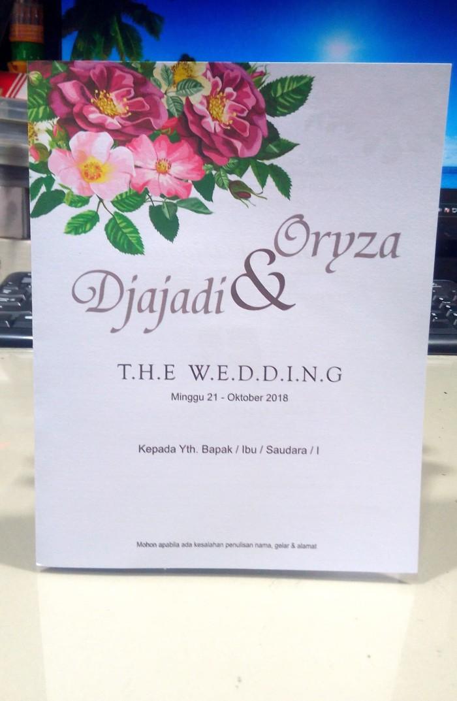 Desain Kartu Ucapan Pernikahan Kosong - kartu ucapan souvenir