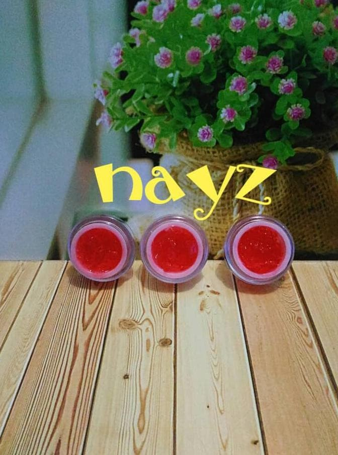 Jelly Red Glowing/Gelly Red/Jelly Cream Glowing/Jelly Merah