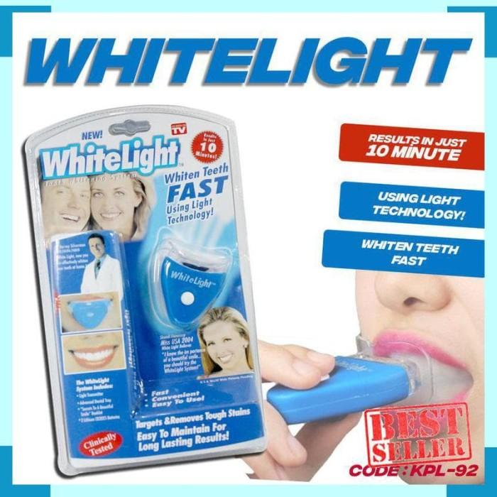 Jual As Seen On Tv White Light Original Usa Pemutih Gigi Instant No ... 5582b53710