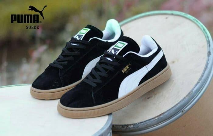 Puma Jual Sneakers Sepatu Import Obral Gum Casual Pria Suede Sol JlF1TcK3