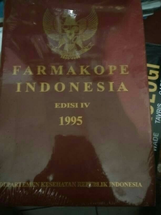 Buku Farmasi Farmakope edisi keempat