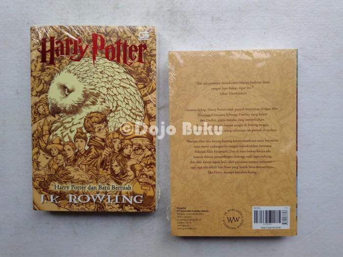 harga Harry potter dan batu bertuah : cetak ulang cover baru by j.k. ro Tokopedia.com