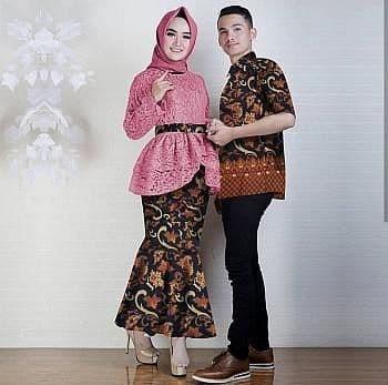 Setelan Wanita Muslim - Couple Kebaya Batik Modern Anisa - Dzikri ... 36dc4a0860