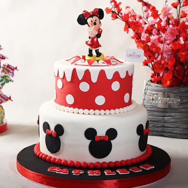 Paling Inspiratif Kue Ulang Tahun Mickey Mouse Perempuan ...