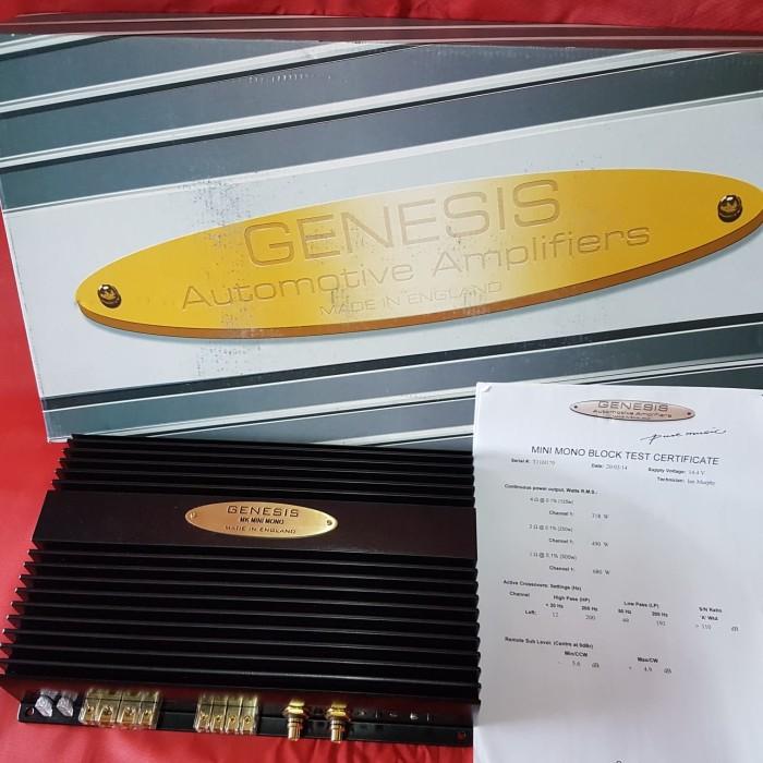 Power amplifier genesis miniblock black