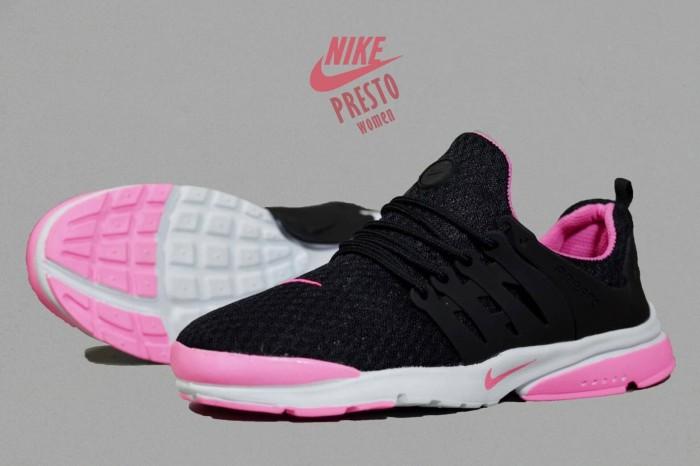 Jual Free Bonus !!! Sepatu Jogging Murah Women Nike Presto Black ... 884d17701a