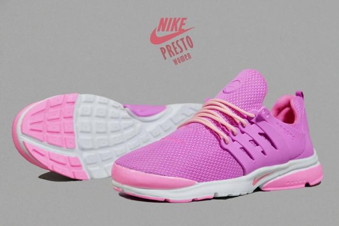 Jual Free Bonus !!! Sepatu Jogging Murah Women Nike Presto Pink Sol ... 64aeea26ea