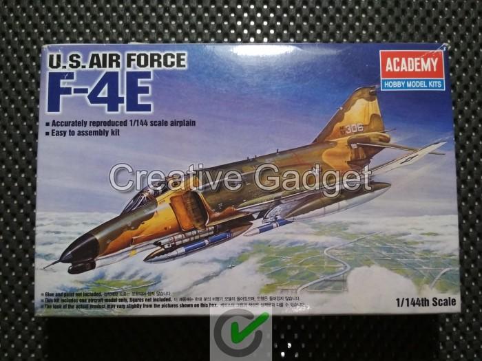 harga Model kit academy 1/144 - us air force f-4e ( phantom ii ) f4e Tokopedia.com