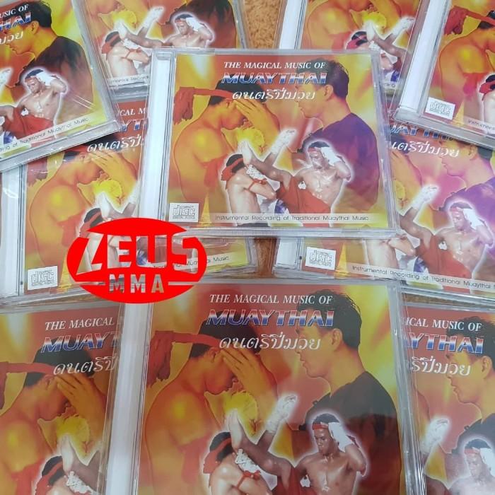 "Foto Produk CD ORIGINAL ""THE MAGICAL MUSIC OF MUAYTHAI "" dari Zeus MMA"