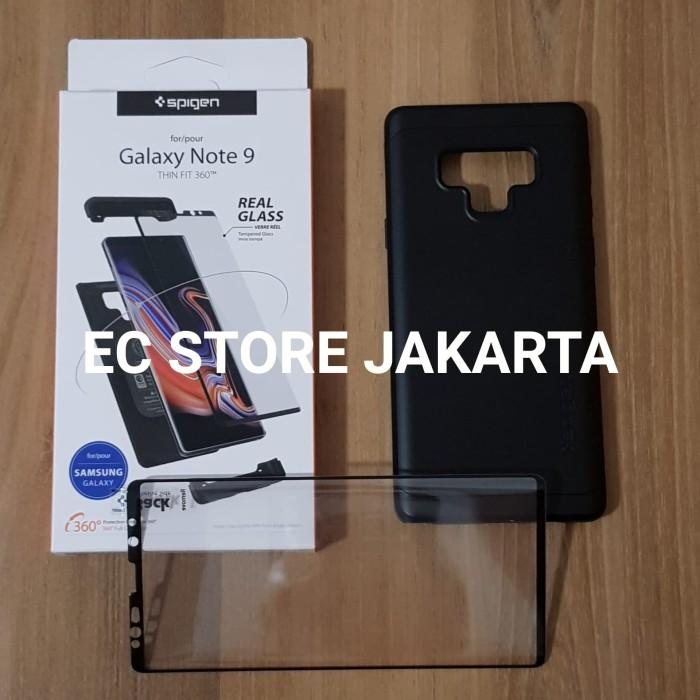 factory authentic ca9c1 0a296 Jual Original Spigen Thin Fit 360 Case Samsung Galaxy Note 9 Black -  Jakarta Utara - EC Store Jakarta | Tokopedia