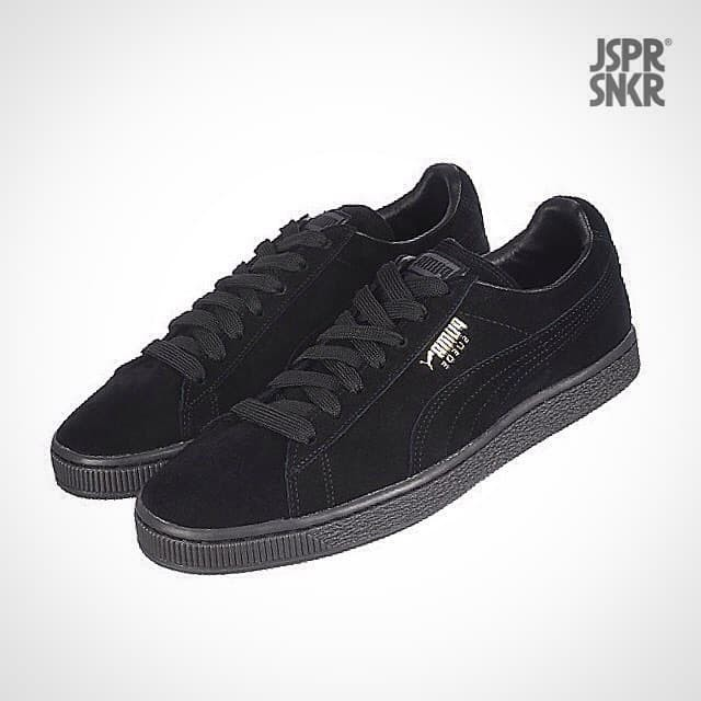 sports shoes 8cd9e 424bc Jual Puma Suede Classic - All Black - Kota Bandung - Jasper Sneakerz |  Tokopedia