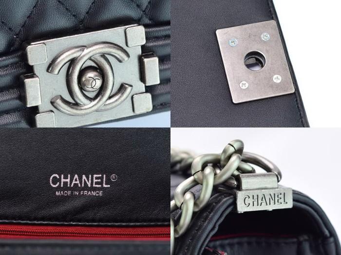Jual Tas CH Boy Classic Medium HITAM Semi Premium AP8001 ... 04b2e541aa