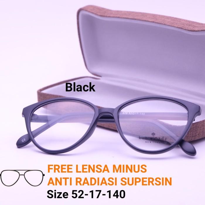 Frame Kacamata Cat Eye Frame Kacamata Kekinian Paket Lensa Minus Murah a0d15ef3c3