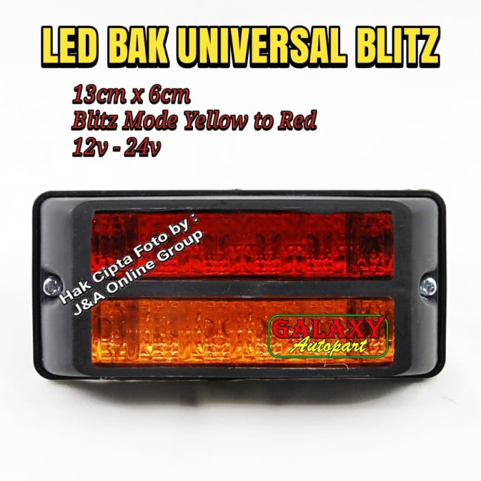 harga Lampu bak truk universal blitz flash - dny 170 - 12v dan 24v Tokopedia.com