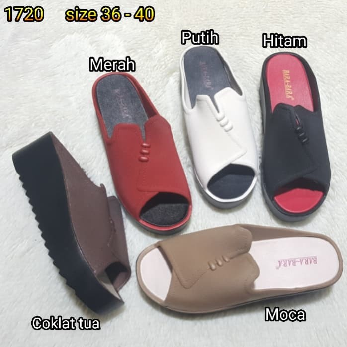 harga Jelly sandal wanita bara bara wedges karet import ams1720k3 Tokopedia.com