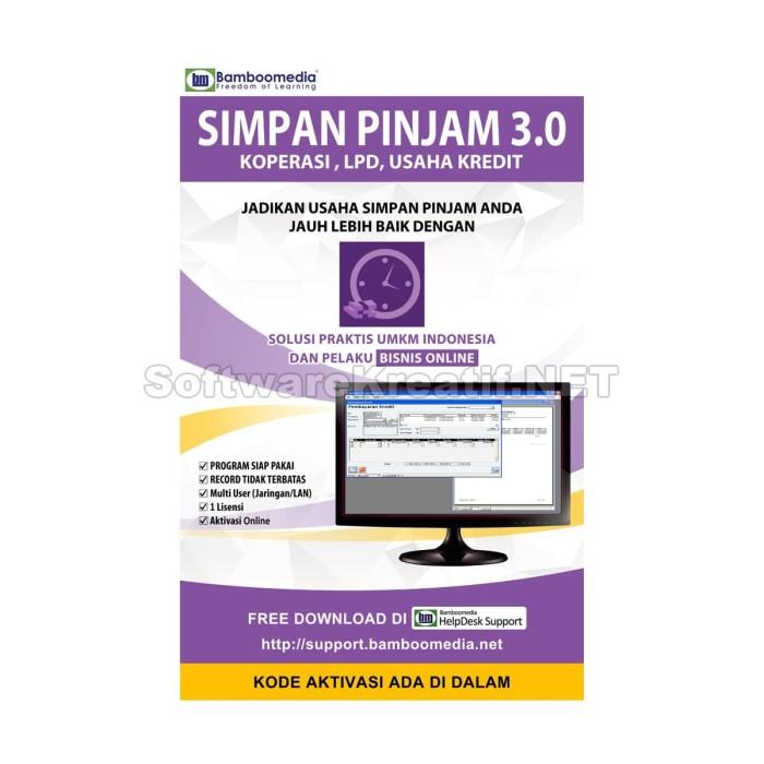 Program Simpan Pinjam 3.0 - Software Untuk Koperasi, Lpd, Dan Usaha Kredit - Blanja.com