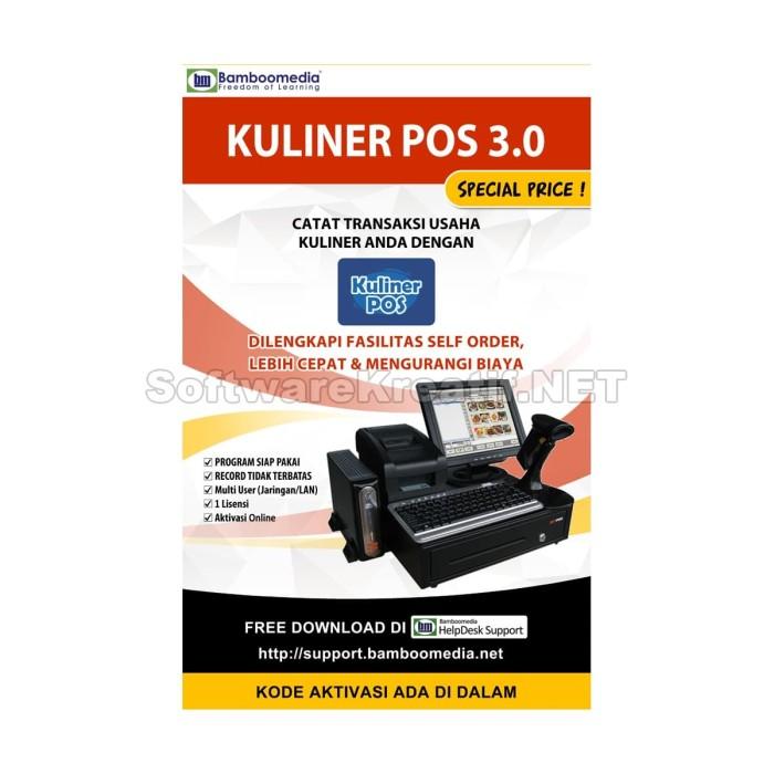 Kuliner Pos 3.0 - Software Untuk Mencatat Transaksi Usaha Restoran - Blanja.com