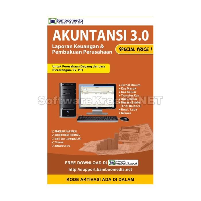 Software Aplikasi Komputer Akuntansi 3.0 - Blanja.com