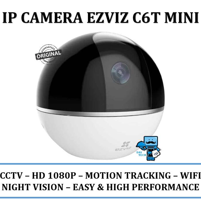 harga Ip camera ezviz c6t mini fullhd 1080p - nightvision panoramic 360 sd Tokopedia.com